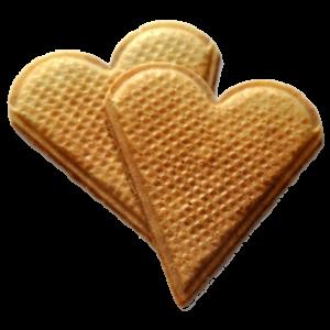 wafle-serduszka